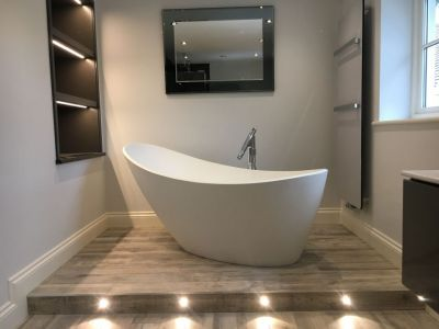 Luxury LED Bathroom Lighting in Haslemere, Surrey