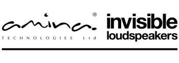 Amina Invisible Loudspeakers Logo