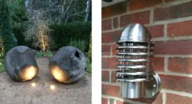 Outdoor lighting solution designed and installed - Surrey