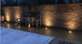 Swimming pool lighting - Surrey
