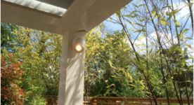 Pergola lighting - Midhurst