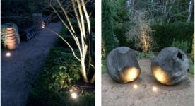 Outdoor lighting design and installed Winchester, Hampshire