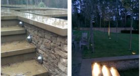 Step light installed - Winchester, Hampshire